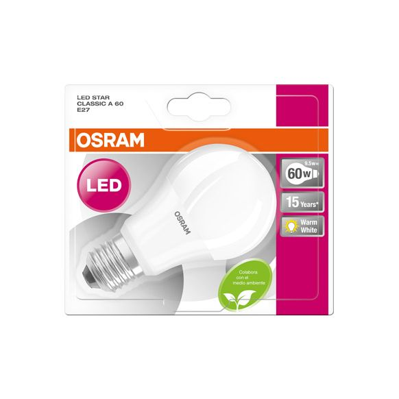 9682977 CALIDA STANDARD LED 9.5W 2700K